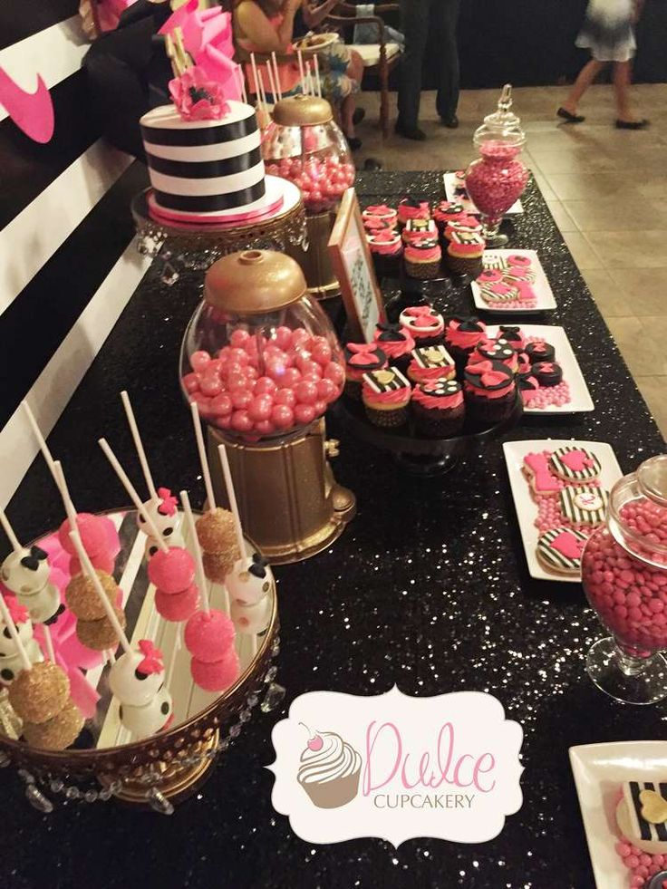fresh kate spade inspired birthday party ideasbirthday party