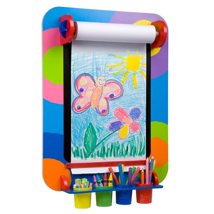 fresh kids wall art easel educational toys planet