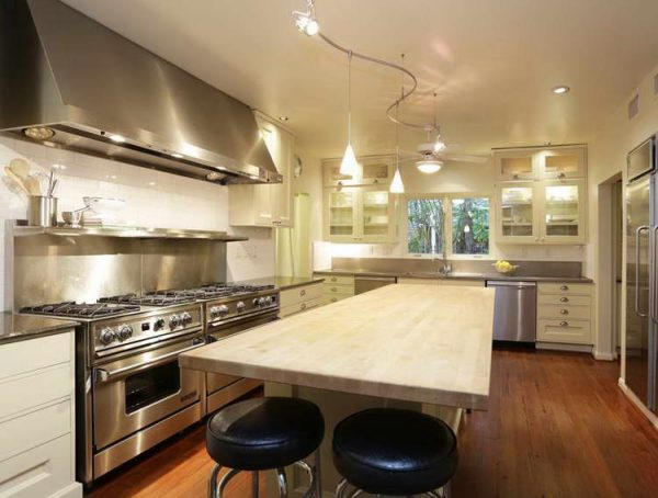 Fresh Kitchen Track Lighting Easy Way To Enhance Your Kitchen Medium