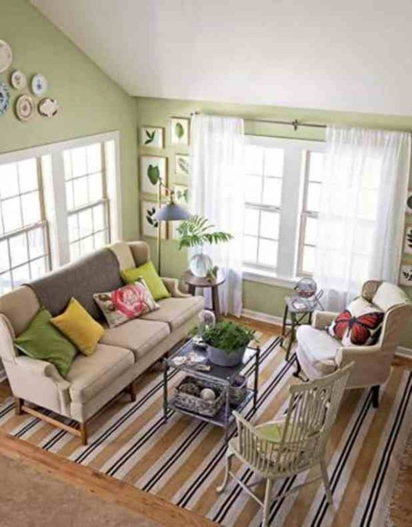 Fresh Living Room Ideas With Sage Green Walls Com On Entrancing Medium