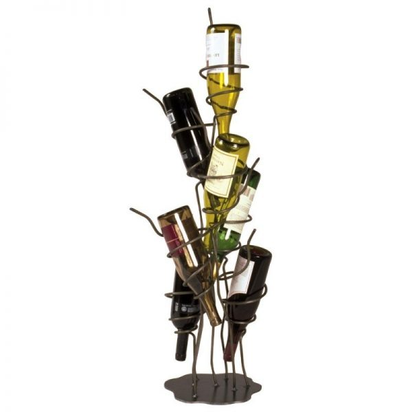 Fresh Metal Floor Standing Wine Racks Foter Medium