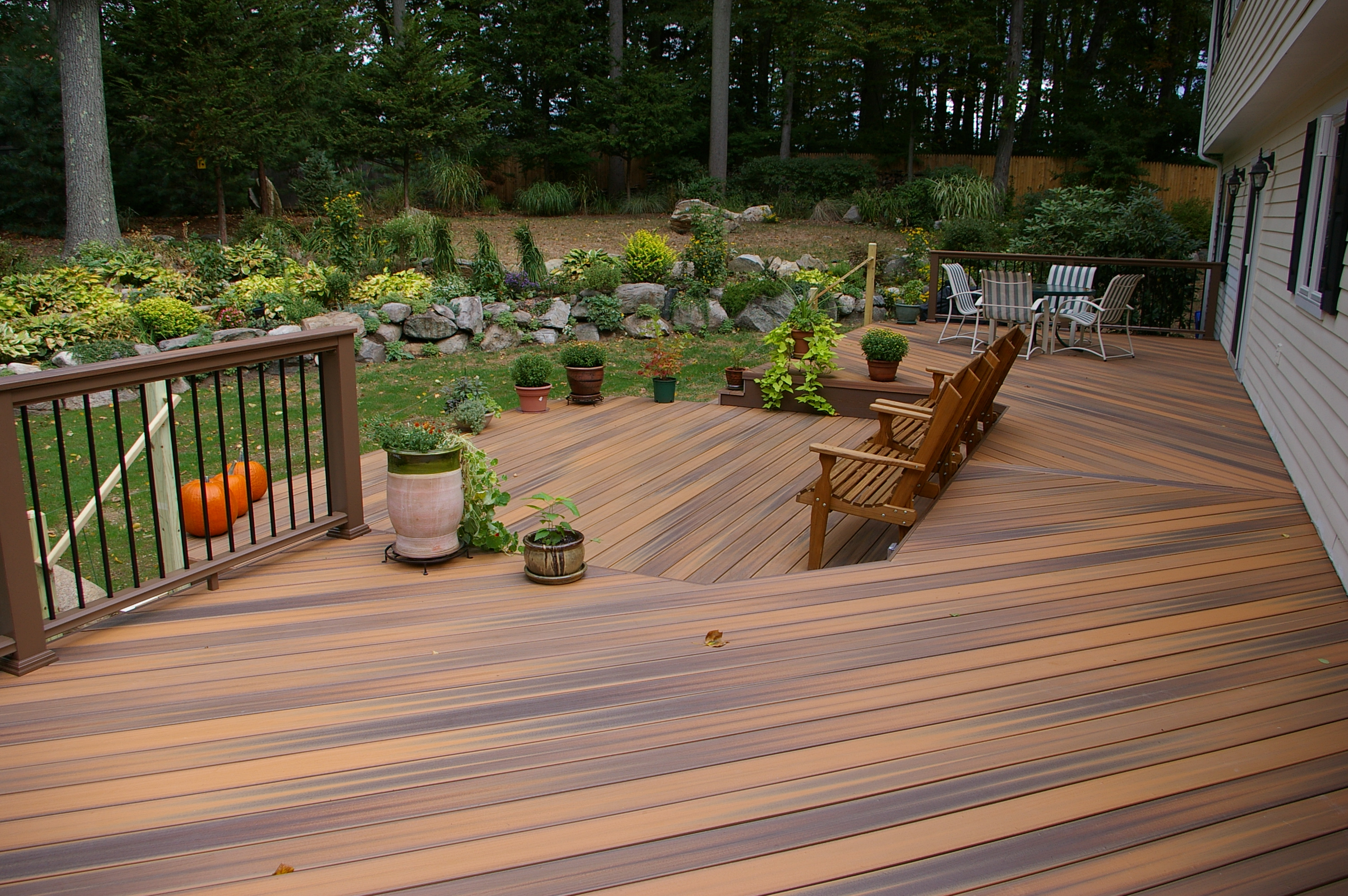 fresh outdoor life and your backyardcustom decks of fairfield