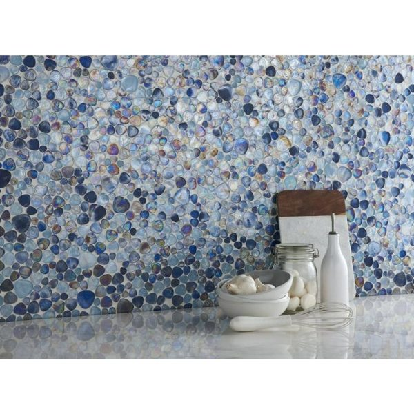 Fresh Pebble Beach Glass Mosaic Tilemilton Milano Designs Medium