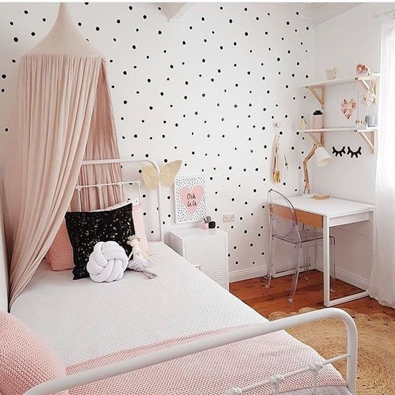 Fresh Polka Dot Kids Room Design Ideaskids Room Ideaskids Medium