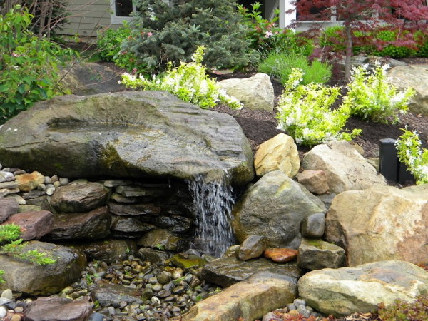 Fresh Pondless Water Feature  Roselawnlutheran Medium