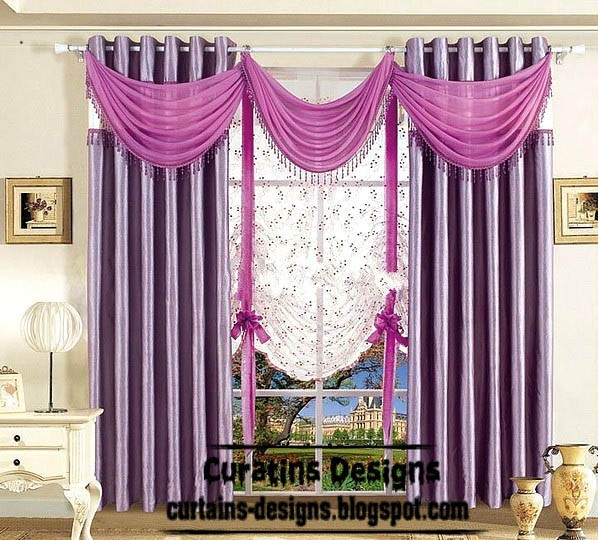 fresh purple curtains for bedroom stylish purple curtain scarf medium