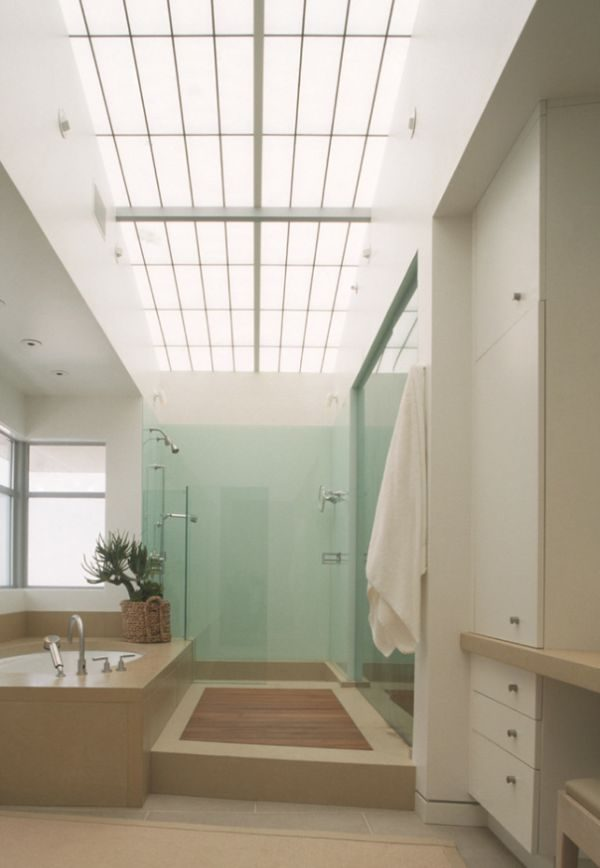 Fresh Six Stunning Uses Of Skylights In Bathrooms Medium