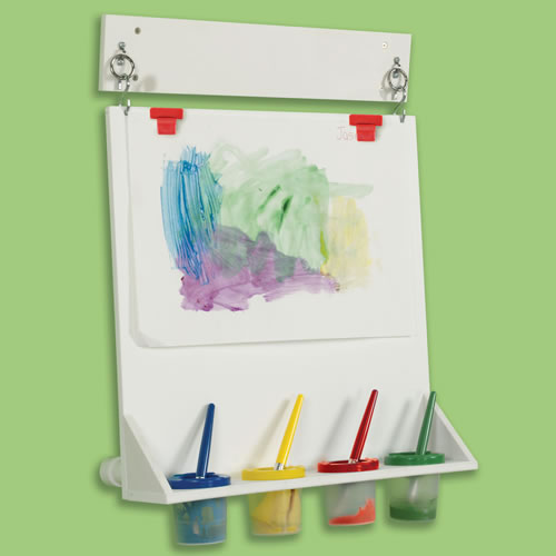 Fresh Space Saver Wall Mounted Paint Easel Medium