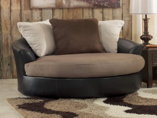 Fresh Unique Round Sofa Chair Living Room Furniture Swivel On Medium