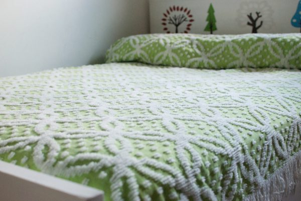 Fresh Vintage Chenille Bedspread For A Full Size Bed   Sale Medium