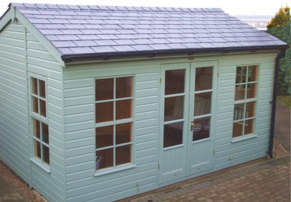 Get 10 X 14 Holkham Summerhouse With Double Glazing Plan Ref 1121 Medium