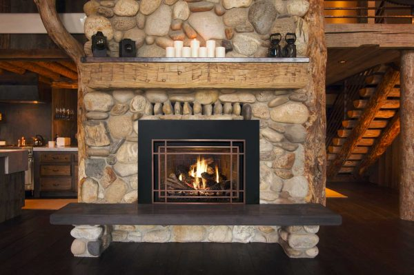Get 25 Interior Stone Fireplace Designs Medium