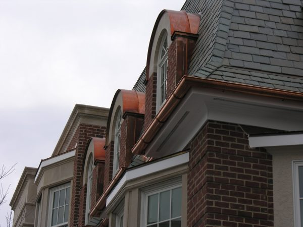 Get Amazing Faux Copper Gutters Rain Water Path For Nice Home Medium