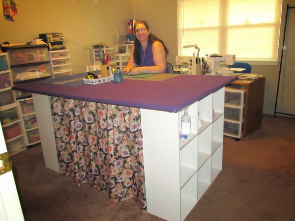 Get Anns Quilt N Stuff My New 4 X 6 Foot Cutting Table Medium