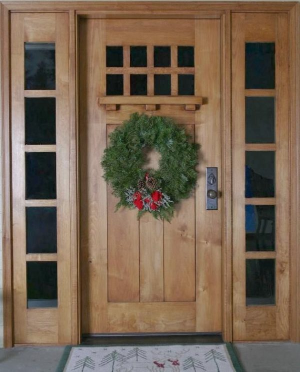 Get Arts And Crafts Front Door Wreath   Arts And Craft Entry Medium
