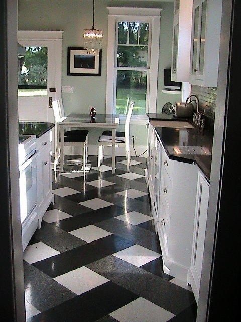 Get Best Black And White Kitchen Ceramic Tile Photo Places Medium