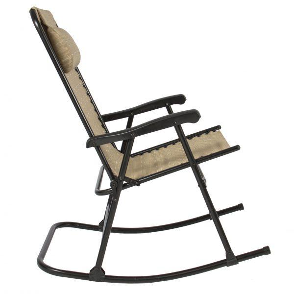 Get Best Choice Products Folding Rocking Chair Foldable Rocker Medium