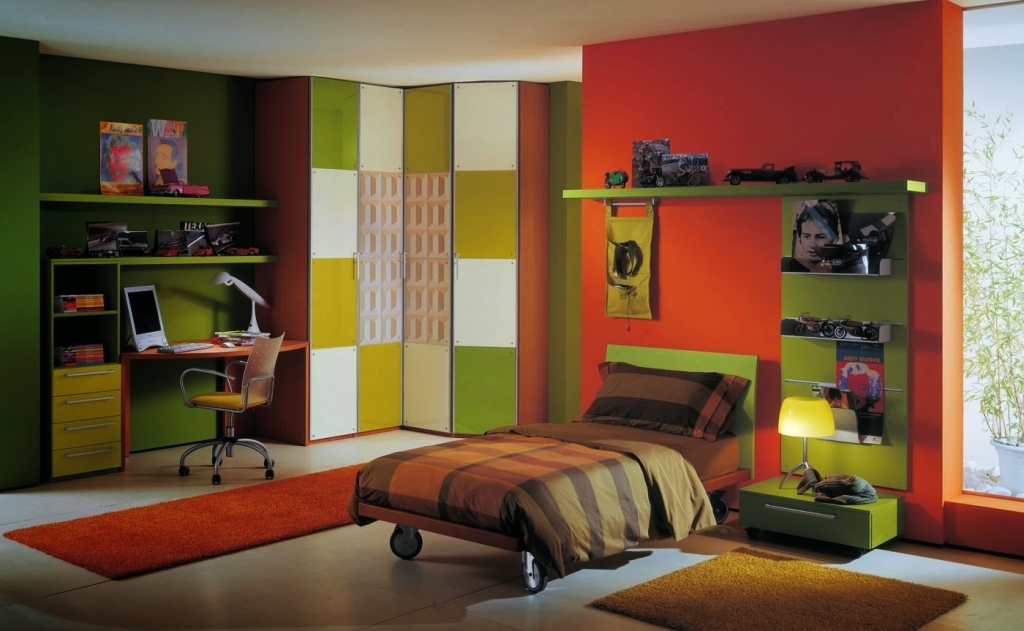get boys bedroom color schemebedroom design decorating ideas