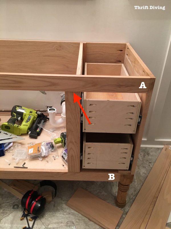 Get Building A Diy Bathroom Vanity Part 5 Making Cabinet Doors Medium