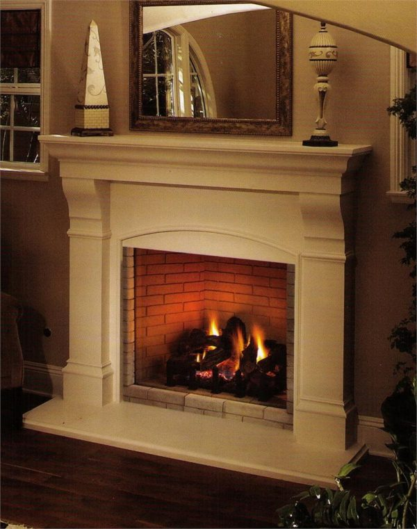 Get Burning Direct Fireplace Gas Vent  Fireplaces Medium