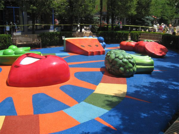 Get Children S Playground Rubber Flooring Gurus Floor Linoleum Medium