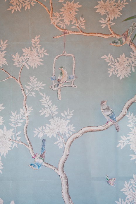 Get Chinoiserie Wallpapertumblr Medium