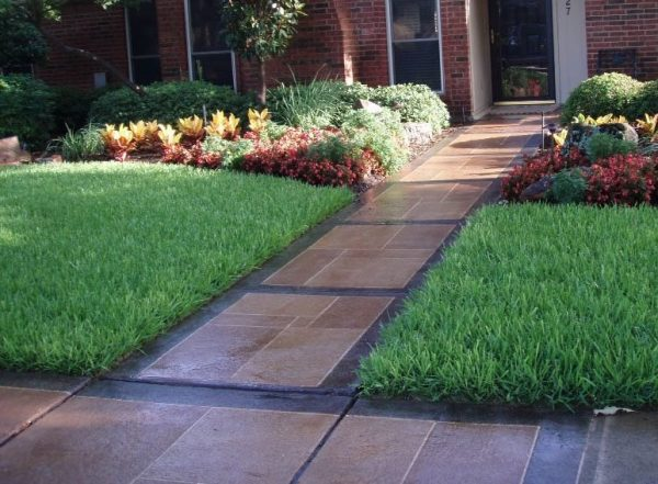 Get Concrete Walkway Design Landscaping Network Medium