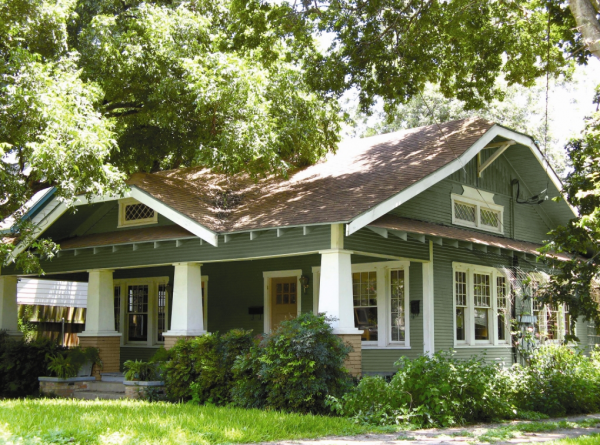 Get Craftsman Style House Exterior In Fresh Painting  House Medium