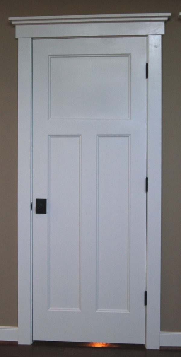 Get Craftsman Style Interior Doors Stained Wood Instead With Medium