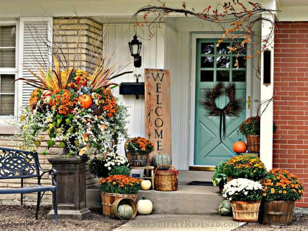 Get Fabulous Outdoor Decorating Tips And Ideas For Fall Zing