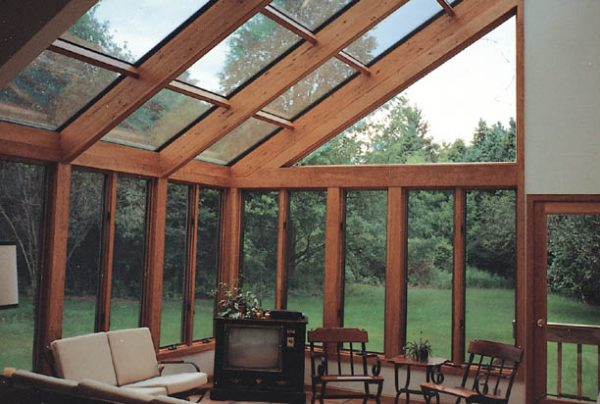 Get Four Seasons System 8 Sunroom Straight Eave Glass Roof Medium