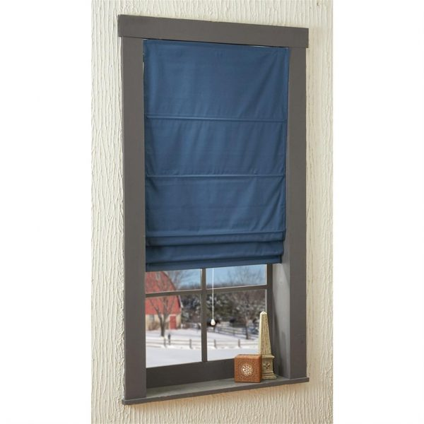 Get Green Mountain Insulated Cordless Roman Shade 112122 Medium