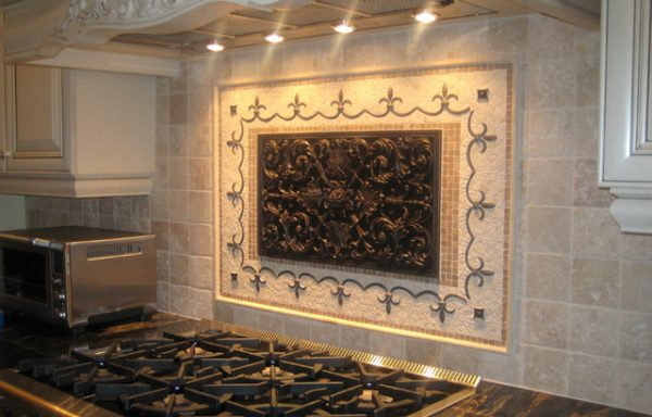 Get Handcrafted Mosaic Mural For Kitchen Backsplash Medium