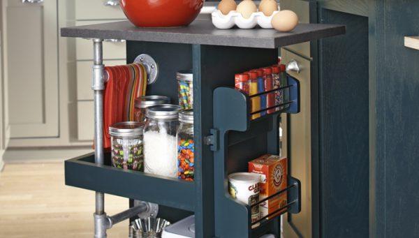 Get Make A Kitchen Storage Cart Medium
