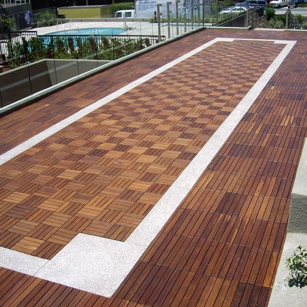 get outdoor wood deck tile contemporary patio chicago