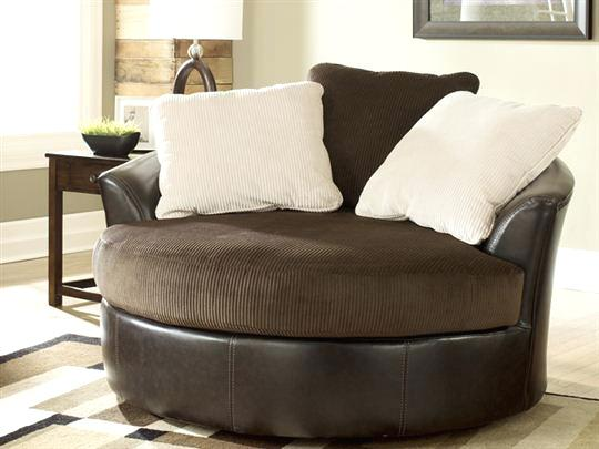 Get Oversized Round Swivel Chair Chairs For Living Room Home Medium