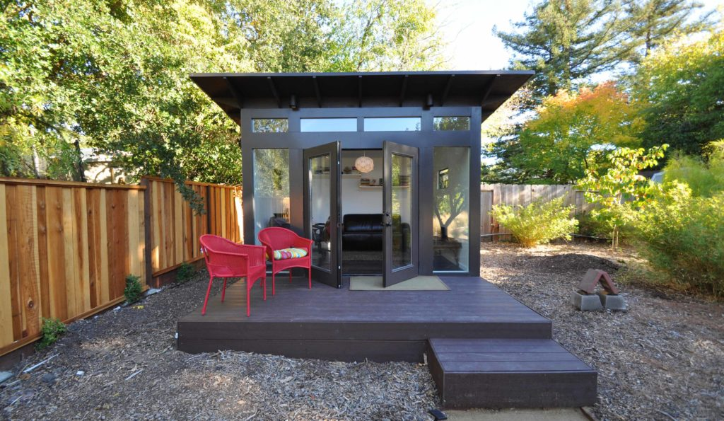 get prefab office sheds   kits for your backyard office