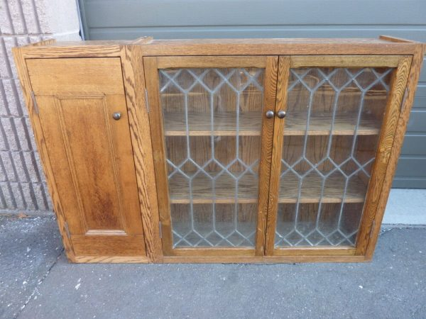 Get Pretty Custom Made Oak Kitchen Cabinet Salvaged Oak Medium