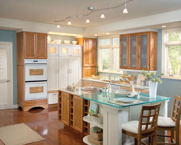 Get Schuler Cabinet Gallery Traditional Kitchen Chicago Medium