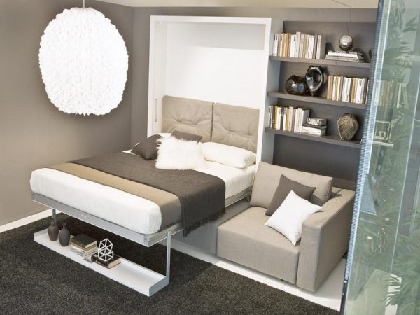 Get Space Saving Bedroom Ideas With Beds That Fold Into Wall Medium