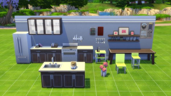Get The Sims 4 Cool Kitchen Stuff Pack Review Medium