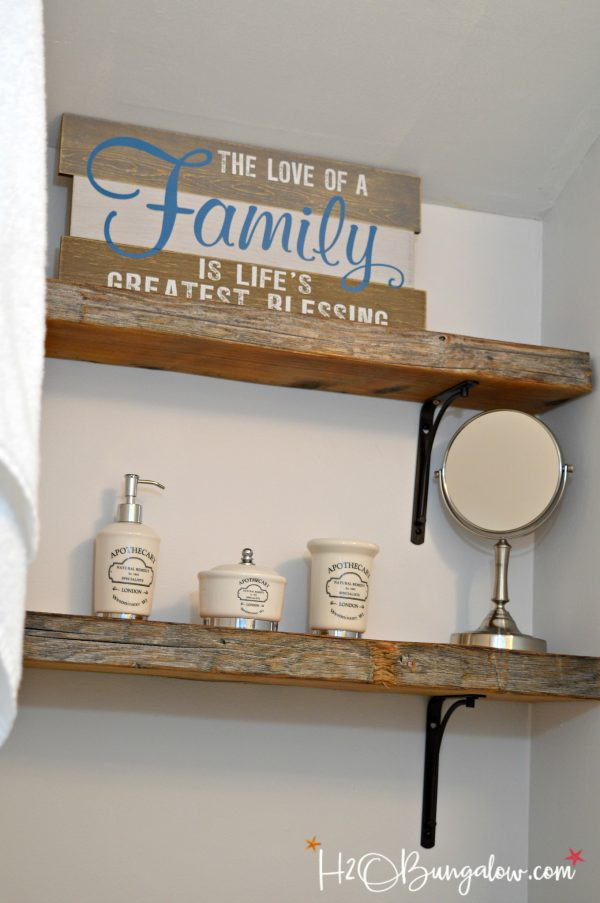 Get Tips For Hanging Thick Wood Shelves H20bungalow Medium