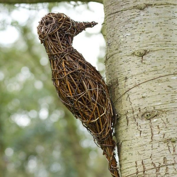 get willow sculptures create interesting things to stop and medium