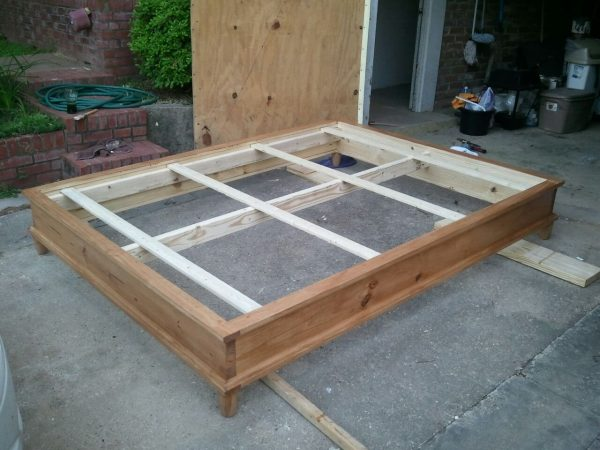Get Woodwork How To Build A Queen Size Platform Bed Pdf Plans Medium
