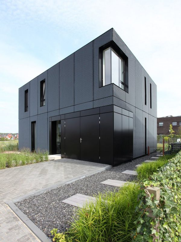 Innovative 14 Examples Of Modern Houses With Black Exteriors Medium