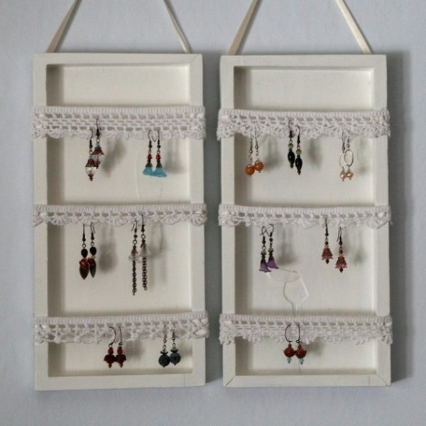 Innovative 36 Awesome Ideas Of Diy Wall Jewelry Organizers Medium