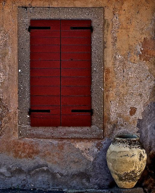 Innovative 46 Best Images About Tuscan Shutters On Red Medium
