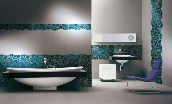Innovative 50 Mosaic Design Ideas For Bathroominteriorholiccom Medium