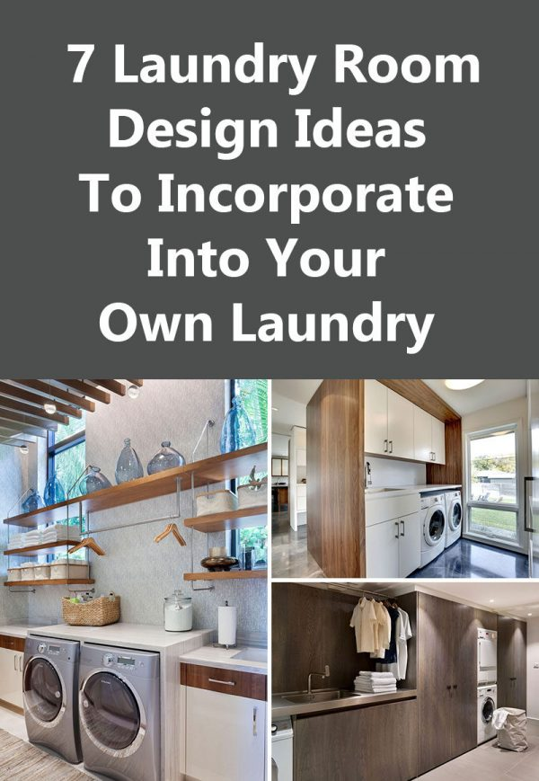 innovative 7 laundry room design ideas to use in your homecontemporist medium