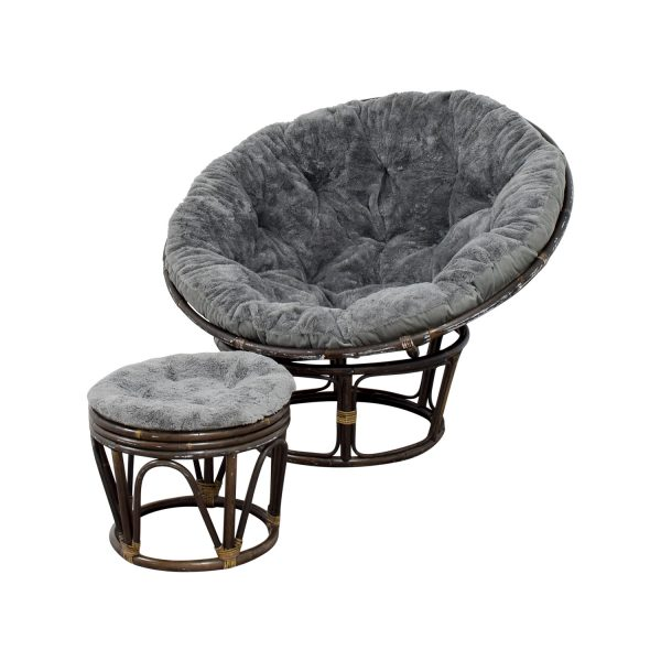 Innovative 86  Off Pier 1 Pier 1 Papasan Chair With Stool   Chairs Medium